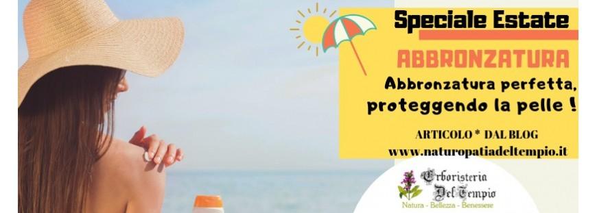 Abbronzatura perfetta proteggendo la pelle