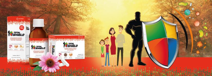 Total Shield Autunno: la nuova gamma di prodotti per rinforzare il sistema immunitario durante la stagione autunnale